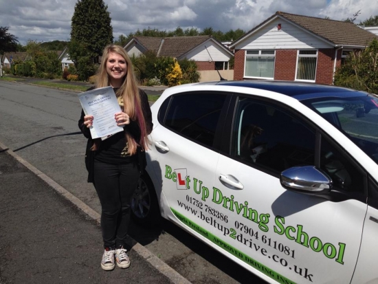 Angie is a very kind and patient instructor who has helped me relax when I was panicking before my test and during driving lessons She is an amazing instructor and I would not have passed first time without her<br /> <br />