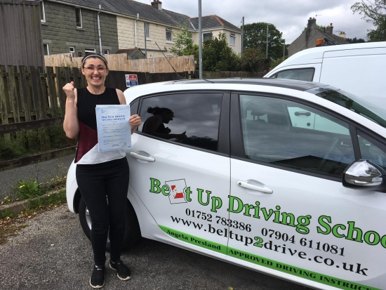 Well what can I say Angie is a fantastic driving instructor Angie is very patient needed to be with me clear and calm she explains things that make it easy for you personally to understand whilst getting all the important things across Angie is very approachable and this makes her lessons a pleasure and fun she is always available to answer any questions you may have and if you are not to