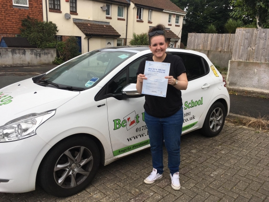 Angie is a great driving instructor I previously went with someone else and took two tests and failed I changed and went with Angie and felt a lot more confident and at ease thanks to Angie got through my 3rd and passed thank you to Angie for taking me on and what youacute;ve done
