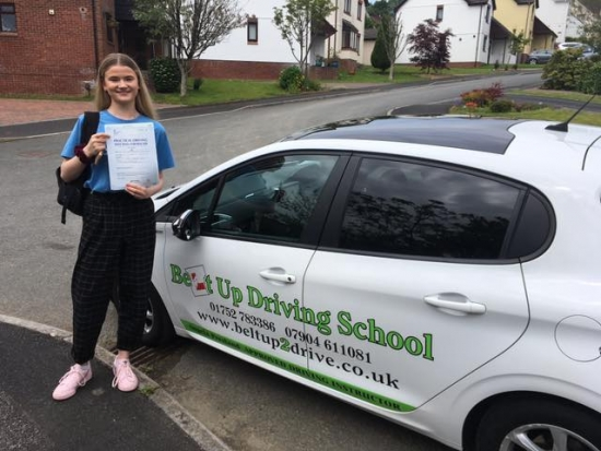 Can't recommend enough! Really helpful and a positive person to be taught by. Passed first time and Angie filled me with confidence. Thankyou for everything and would 10/10 recommend