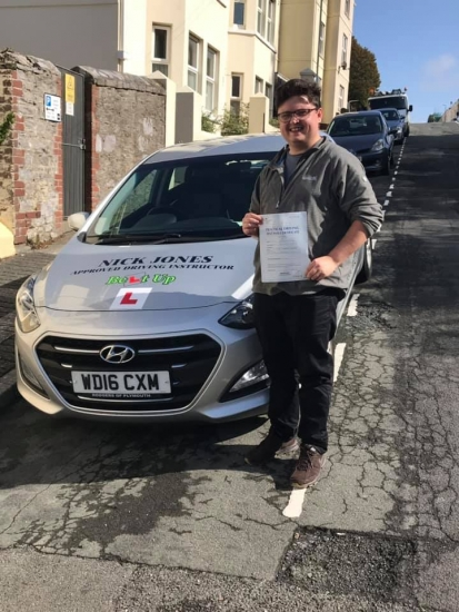 Congratulations to my student Tom Jackson on passing his Driving Test this morning on his first attempt!!! I'm so proud of you Tom fantastic drive keep safe on the roads