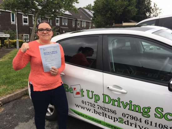 What can i say seriously this lady is amazing instructor very calm patient and professional If she can take this nervous wreck and turn them into a confident driver then anyone can do it seriously donacute;t think i could of passed with out her help Highly recommended