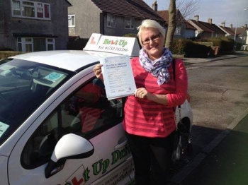 Angie is a brilliant instructor I passed my test today after trying to pass for many years with other instructors then i came across Angie in the summer and she helped me over come many fears which I had for being on the road but and now I have passed can highly recommend think you again xx<br />
