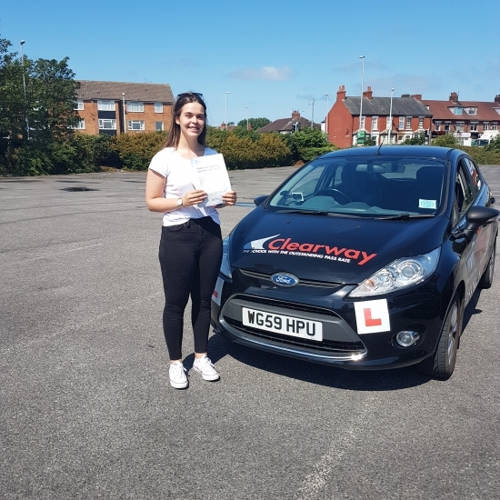 Thoroughly enjoyed my driving lessons with Fred and felt relaxed and confident.  He entered me for my test when he thought it was right and I PASSED!!  Best driving instructor.  Thank you Fred.  Passed 19th June 2019.