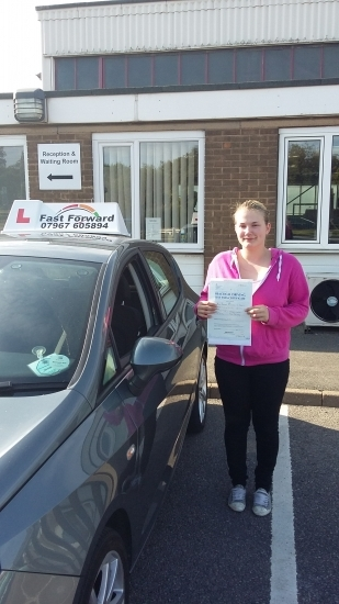 well done Becca a great result