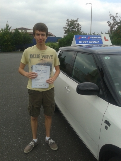 Well done lewis an excellent result fron all your hard work