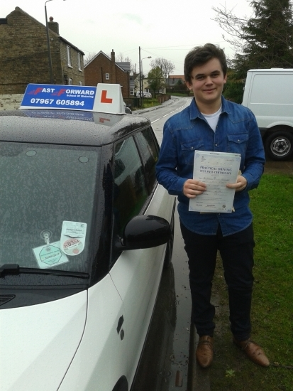 congratulations Matt on passing your test A good end to the year