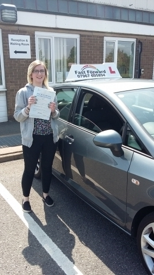 So this happened today! Finally done and passed my test! Couldn´t have done it without Bill Dalby. Thank you for helping me achieve this and having faith in meðŸ˜�