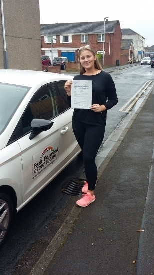 Excellent first time pass. well done