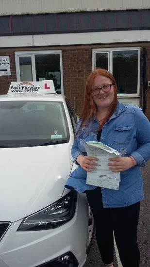 well done Abi on passing test. Be safe