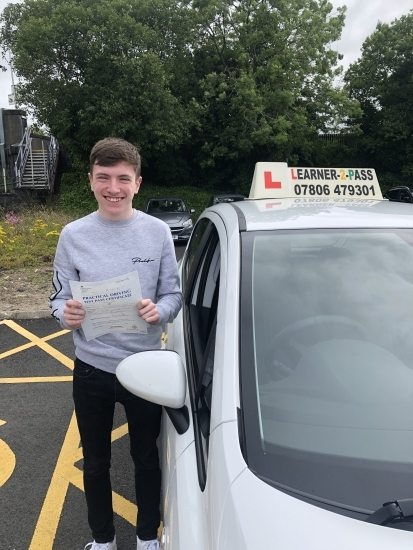 CONGRATULATIONS SCOTT PASSING YOUR DRIVING TEST 1ST ATTEMPT