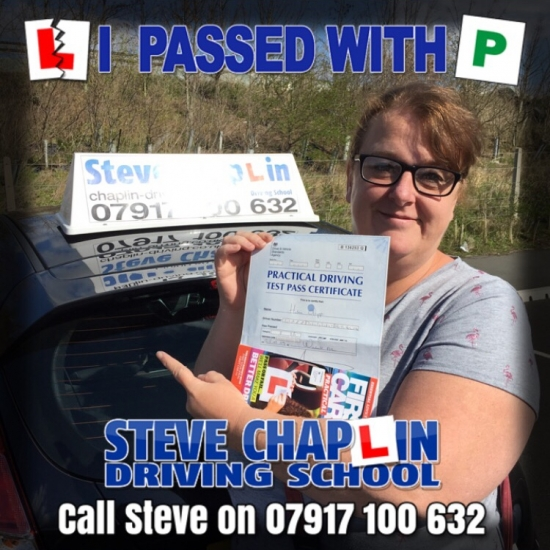 Helen Clapp from Ilkeston PASSED on 25/03/2019 at Watnall Driving Test Centre