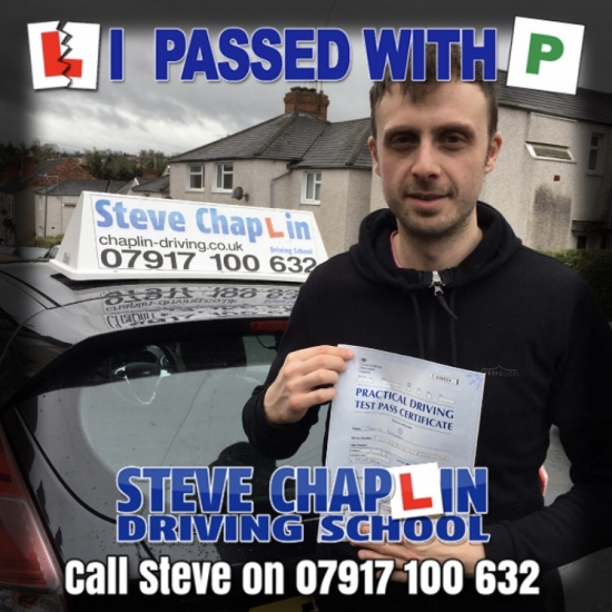 Dave Sumner from Langley Mill PASSED on 24/02/2020 at Watnall Driving Test Centre