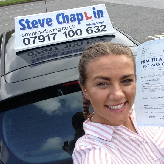 Jessica Poppy Heyman from Derbyshire PASSED on 14/10/2016 at Watnall Driving Test Centre