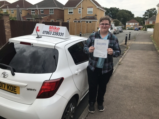 Great result for you. You stay safe behind that wheel!
