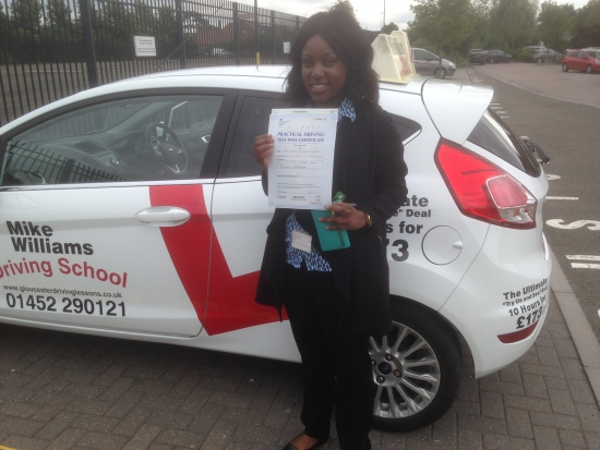 My name is Rumona Nyajery and I had my driving lessons with Mike Williams Driving School The reason that I chose Mike was because of the great reviews on his website I found learning to drive much better that I thought it would be Mike put me so much at ease His teaching methods were clearsimple practical and very easy to understand Would I recommend Mike to others…YES He is a very p