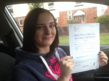 Passed. Alyx Taylor Of Gloucester