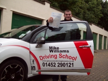I chose Mike Williams Driving School because of the Customer Reviews on his website.