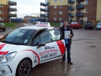 Passed. Dylan Parry Of Gloucester