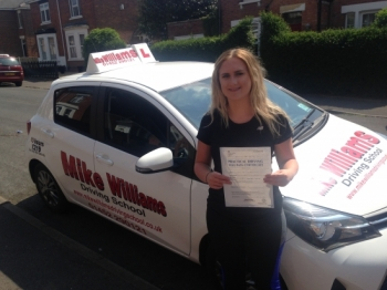 You really impressed your Examiner on the route that he took you on. You came back to the test centre with only 3 driving faults, which is a great result.