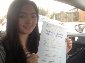 Passed. Julia Yip Of Gloucester
