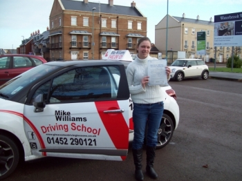 "Well done Karen….all that pressure but you nailed it, never a doubt!! You ""relaxed"" and now you have your driving licence."