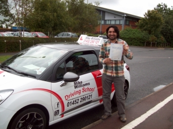 People were saying that they enjoyed their lessons with him, and what a good driving instructor he was.