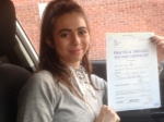 Passed. Chloe Perez of Gloucester