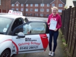 Passed. Hannah Sayers of Gloucester