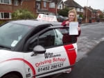 Passed. Lucy Pearce of Gloucester