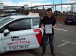 Passed. Tom Bailey of Gloucester