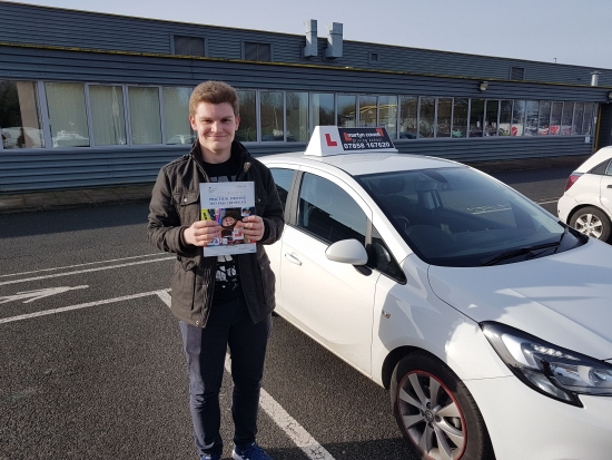 Huge congratulations Jack Giles on passing your test today in Newbury. Wishing you safe & happy driving years ahead