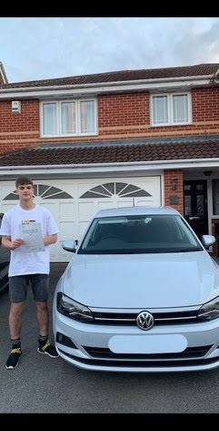 Huge congratulations Jack Donner on passing your test today in Newbury . Wishing you safe & happy driving years ahead