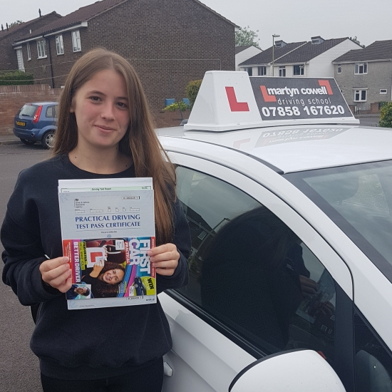 Congratulations on passing your test in Winchester