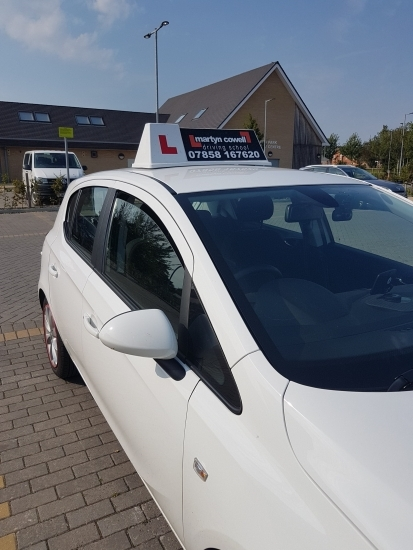 Congratulations Ben on passing your driving test in Salisbury today 1st time  No picture for security reasons. Aug 2019