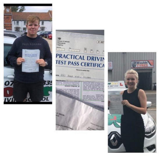 3 More learners have passed their driving test with Clover SOM