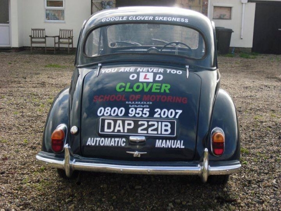 The old Morris Minor