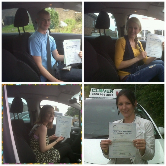 Our New Full Licence Holders
