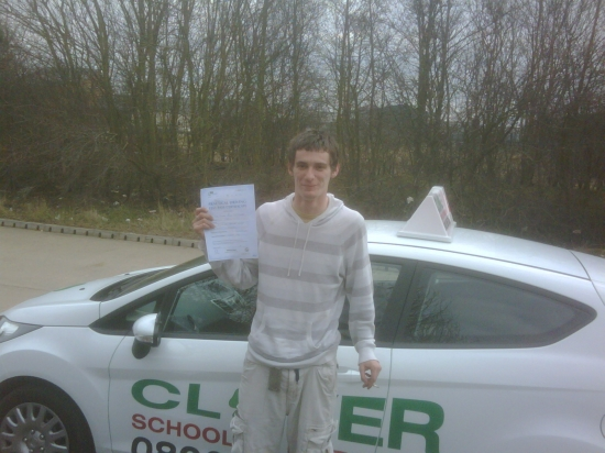 Passed with only 3 minors 1st time