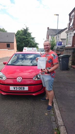 A big congratulations to Adam Allcock, who has passed his driving test toady at Newcastle Driving Test Centre,<br /> with just 4 driver faults.<br /> Well done Adam - safe driving from all at Craig Polles Instructor Training and Driving School. :)<br /> Instructor-Debbie Griffin