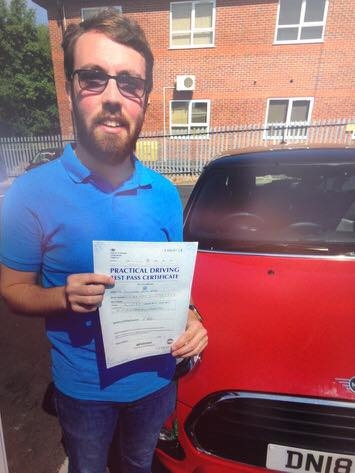 A big congratulations to Alex Webb, who has passed his driving test today at Newcastle Driving Test Centre, with just 4 driver faults.<br /> Well done Alex - safe driving from all at Craig Polles Instructor Training and Driving School. 🙂<br /> Instructor-Mark Ashley