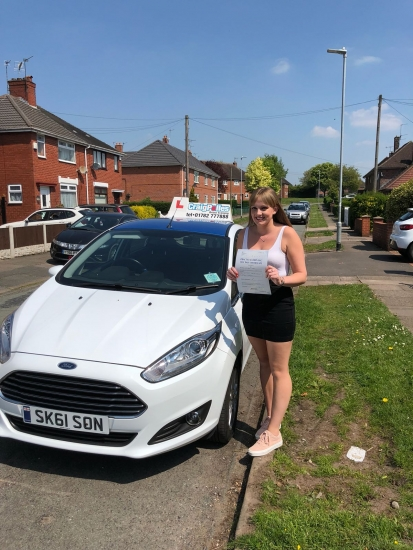 A big congratulations to Kia Hudson, who has passed her driving test today at Cobridge Driving Test Centre.<br /> First attempt and with just 5 driver faults.<br /> Well done Kia - safe driving from all at Craig Polles Instructor Training and Driving School. :)<br /> Instructor-Sara Skelson