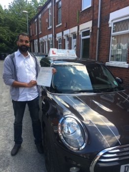 A big congratulations to Abhiraj Radhakrishnan, who has passed his driving test today at Newcastle Driving Test Centre with just 7 driver faults.<br /> Well done Abhiraj - safe driving from all at Craig Polles Instructor Training and Driving School. :)<br /> Instructor-Ashlee Kurian