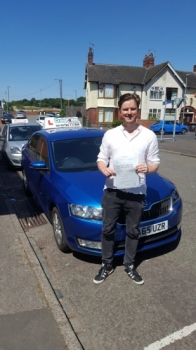 A massive congratulations to Alex Hemming, who has passed his driving test today at Cobridge Driving Test Centre, at his First attempt and with 0 driver faults.<br />