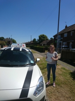 A big congratulations to Amy Morris, who has passed his driving test today at Crewe Driving Test Centre with 9 driver faults.<br /> Well done Amy - safe driving from all at Craig Polles Instructor Training and Driving School. :)<br /> Instructor-John Breeze