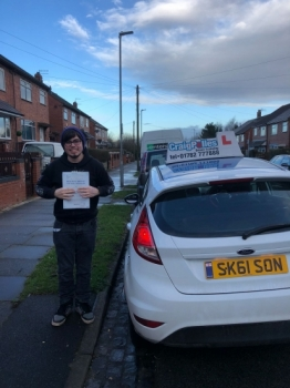 A big congratulations to Brandon Smith, who has passed his driving test today at Newcastle Driving Test Centre, with 6 driver faults.<br /> Well done Brandon - safe driving from all at Craig Polles Instructor Training and Driving School. 🚗😀