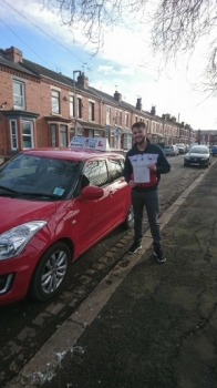 A big congratulations to Cameron Gallimore, who has passed his driving test today at Crewe Driving Test Centre, with just 4 driver faults.<br /> Well done Cameron - safe driving from all at Craig Polles Instructor Training and Driving School. 🚗😀