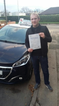 A big congratulations to Carl Myatt, who passed his driving test today at Newcastle Driving Test Centre, with just 2 driver faults.<br /> Well done Carl - safe driving from all at Craig Polles Instructor Training and Driving School. 🚗😀