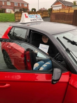 A big congratulations to Carly Bennett, who has passed her driving test today at Cobridge Driving Test Centre.<br /> First attempt and with just 5 driver faults.<br /> Well done Carly - safe driving from all at Craig Polles Instructor Training and Driving School. 😀🚗<br /> Instructor-Stephen Cope