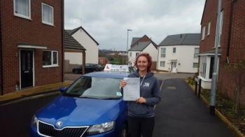 A big congratulations to Charlie Awde, who has passed her driving test today at Newcastle Driving Test Centre. First time and with just 2 driver faults.<br /> Well done Charlie - safe driving from all at Craig Polles Instructor Training and Driving School. 🚗😀